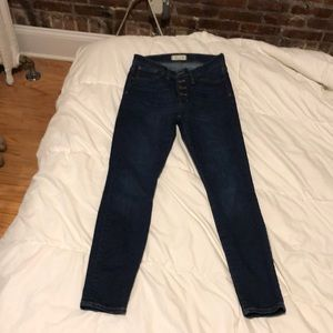 Lightly Worn Size 27 Madewell Jeans